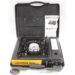 NEW DELUXE PORTABLE GAS STOVE