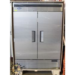 NEW ATOSA 2-DOOR S/S UPRIGHT REFRIGERATOR