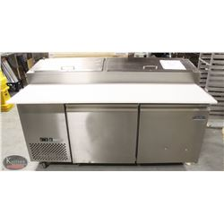 COLDTECH S/S COMMERCIAL PIZZA PREP STATION