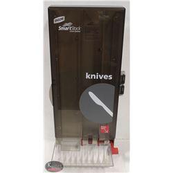 NEW DIXIE SMART STOCK DISPOSIBLE KNIFE DISPENSER