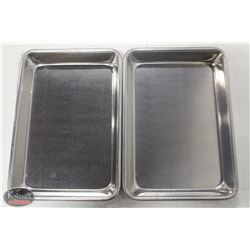 LOT OF 4 NEW WINCO 1/8 SIZE SHEET PAN