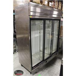 COLDSTREAM TRIPLE GLASS DOOR DISPLAY COOLER