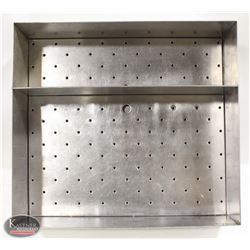STAINLESS STEEL PORTABLE ICE BAR WELL W/