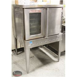 BLODGETT NATURAL GAS CONVECTION OVEN