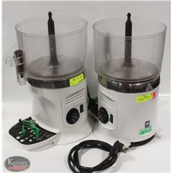 TWO 800W BRAS HOT BEVERAGE MACHINES FOR PARTS