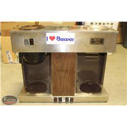 BUNN BUNN-OMATIC DUAL-HEAD COFFEE MAKER