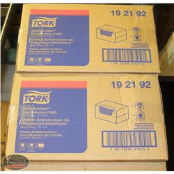 2 CASES OF TORK ANTI-MICROBIAL FOOD SERVICE