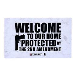 TEKMAT DOOR MAT 2ND AMENDMENT