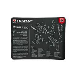 TEKMAT ULTRA PSTL MAT SIG P320 BLK