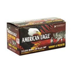 FED AM EAGLE V& P 22-250 50GR - 50 Rds