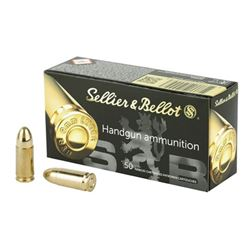 S& B 9MM 124GR FMJ - 50 Rds