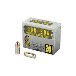 CORBON 380 ACP 90GR JHP - 20 Rds