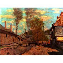 Claude Monet - The Brook of Robec