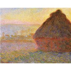 Claude Monet - Graystacks I