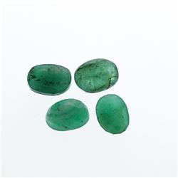 5.01 cts. Oval Cut Natural Emerald Parcel