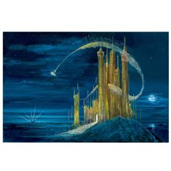 """Peter (1913-2007) & Harrison Ellenshaw, """"Gold Castle"""" Limited Edition Giclee on"""