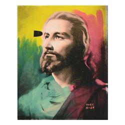 "Ringo Daniel Funes (Protege of Andy Warhol's Apprentice, Steve Kaufman), ""Jesus"""
