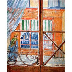Van Gogh - A Pork-Butchers Shop Seen From A Window