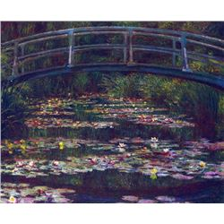 Claude Monet - Water Lily Pond #5