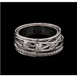 0.42 ctw Diamond Ring - 14KT White Gold