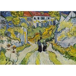 Van Gogh - Street And Road In Auvers