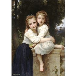 William Bouguereau - Two Sisters