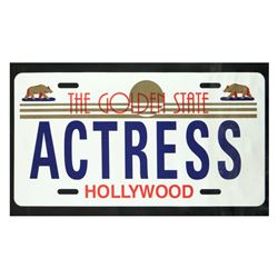 "Steve Kaufman (1960-2010), ""Actress"" Hand Pulled Limited Edition Silkscreen on C"