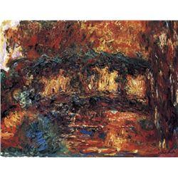Claude Monet - The Japanese Bridge #2