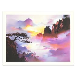 """H. Leung, """"Approach of Night"""" Limited Edition, Numbered and Hand Signed with Let"""