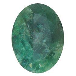 7.03 ctw Oval Emerald Parcel