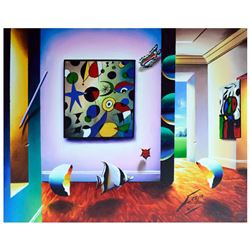 """Ferjo, """"Capturing the Essence"""" Original Painting on Canvas, Hand Signed with Let"""