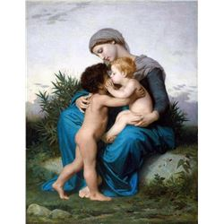 William Bouguereau - Fraternal Love