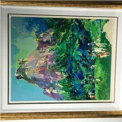"""Gavea Golf Club"" by LeRoy Neiman (1921-2012)"