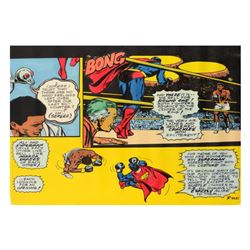 "Ringo Daniel Funes (Protege of Andy Warhol's Apprentice, Steve Kaufman), ""Superm"