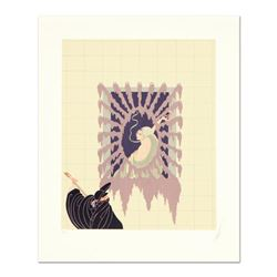 """Erte (1892-1990), """"La Serenade"""" Limited Edition Serigraph, Numbered and Hand Sig"""