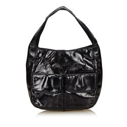 Prada Small Patent Leather Handbag