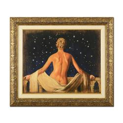 "Tomasz Rut, ""Aeternita"" Framed Limited Edition on Canvas (41.5"" x 35.5""), Number"