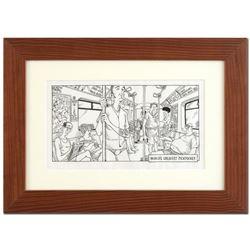 "Bizarro! ""The World's Greatest Pickpocket"" is a Framed Original Pen & Ink Drawin"