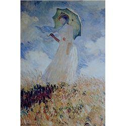 Claude Monet - Lady with Umbrella