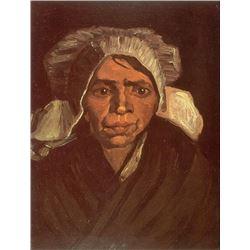 Van Gogh - Peasant Woman