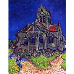 Van Gogh - The Church Of Auvers