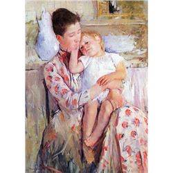 Mary Cassatt - Mother And Child #2