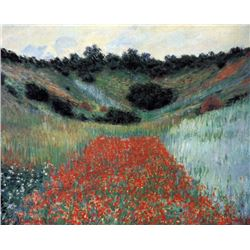 Claude Monet - Poppy Field in Giverny
