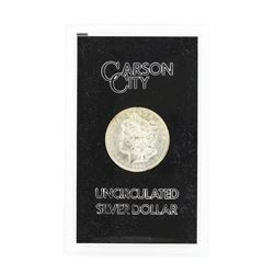 1885 Carson City Uncirculated Silver Dollar