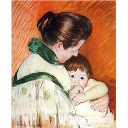 Mary Cassatt - Woman And Child