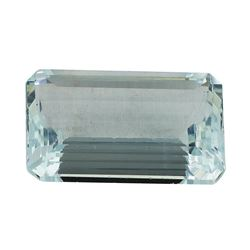 8.33 ct.Natural Emerald Cut Aquamarine