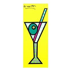 Yellow Martini by Britto, Romero