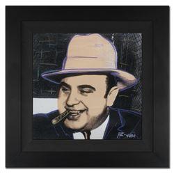 "Ringo 4u2c - (Protege of Andy Warhol's Apprentice - Steve Kaufman), ""Al Capone,"