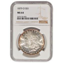 1879-O $1 Morgan Silver Dollar Coin NGC MS64