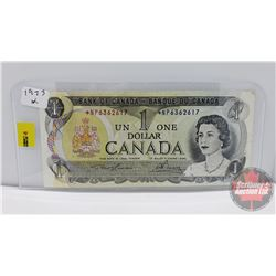 Canada $1 Bill 1973 (Replacement) Lawson/Bouey S/N#*NP6362617